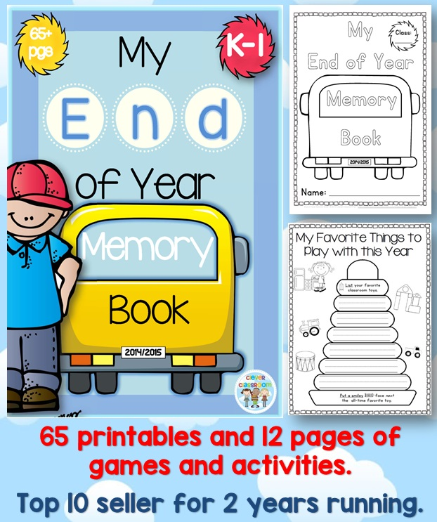End of Year Memory Book 2016