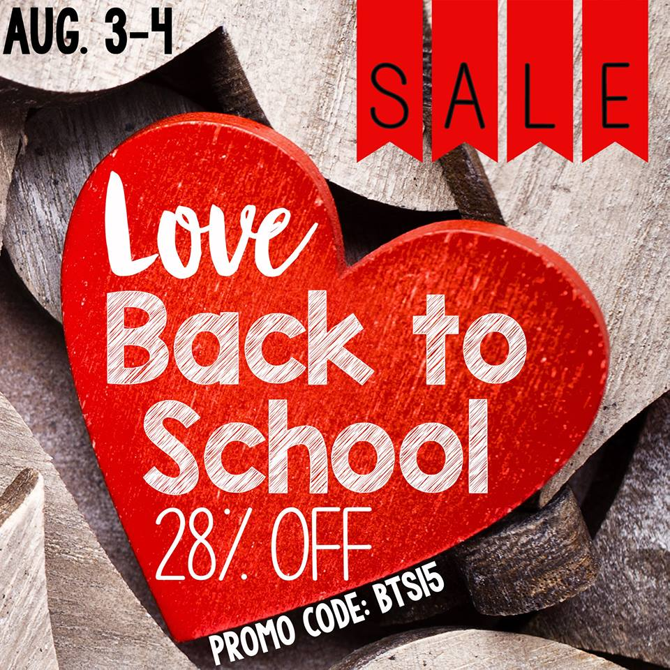 Back to School Freebies and a Sale