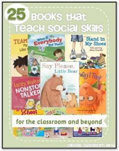 Books that teach social skills - Clever Classroom