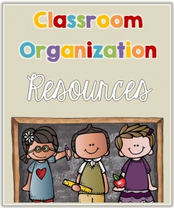 Classroom Organizational resources