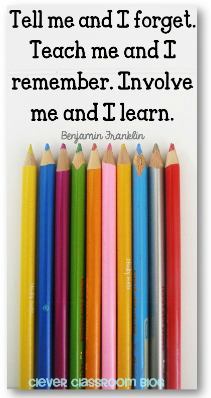 Hands on learning quote for teachers