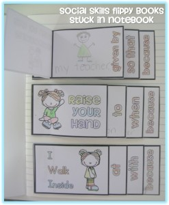 Social skills flippy books to explicitly teach social skills