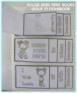 Social skills flippy books to explicitly teach social skills