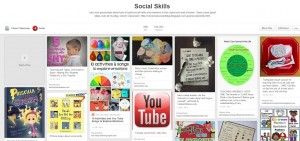 Social Skills Pinterest board plus a book list that will help to teach social skills