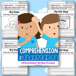 Comprehension for Kindergarten Front Cover Image