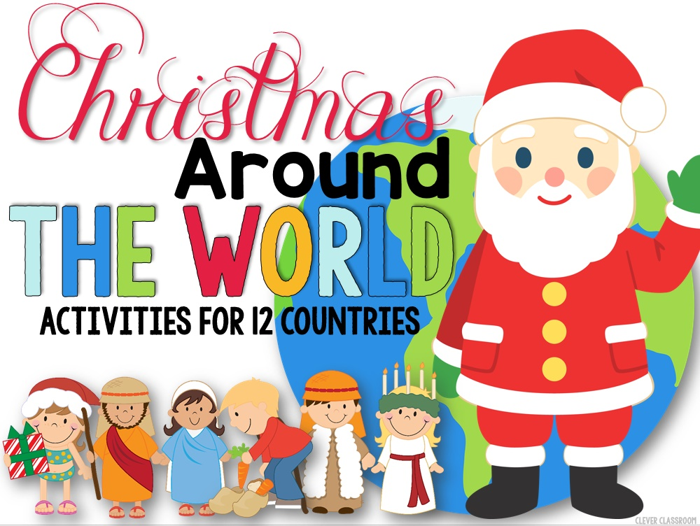 Christmas Around The World Activities Blog Header Clever
