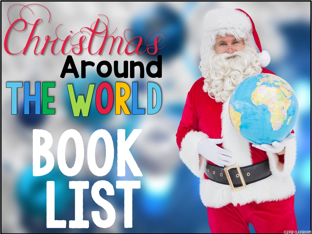 Christmas Around the World Book List FREEBIE