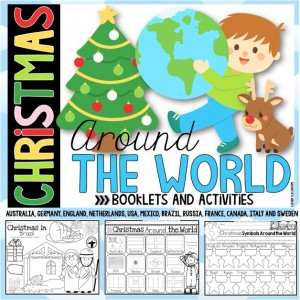 Christmas Around the World Booklet and Activities