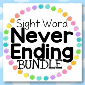 Sight Word BUNDLE Front Cover Image
