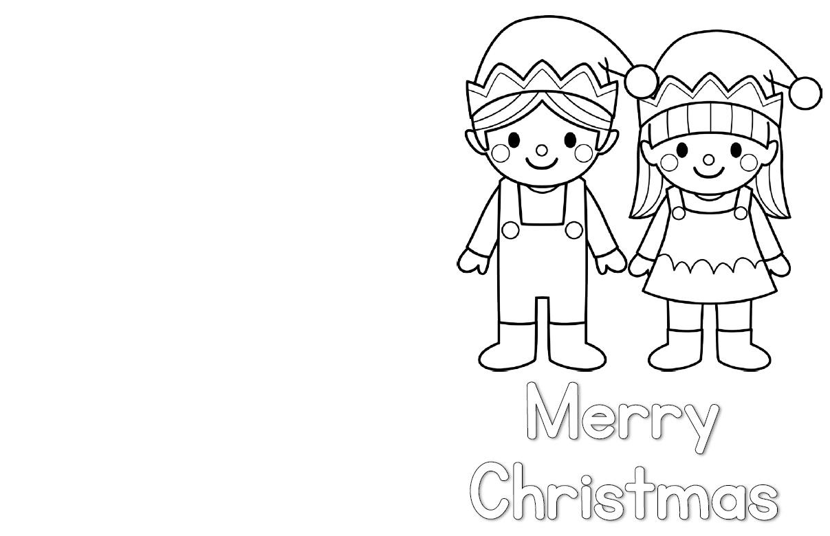 Christmas Card FREEBIES 2 - Clever Classroom Blog