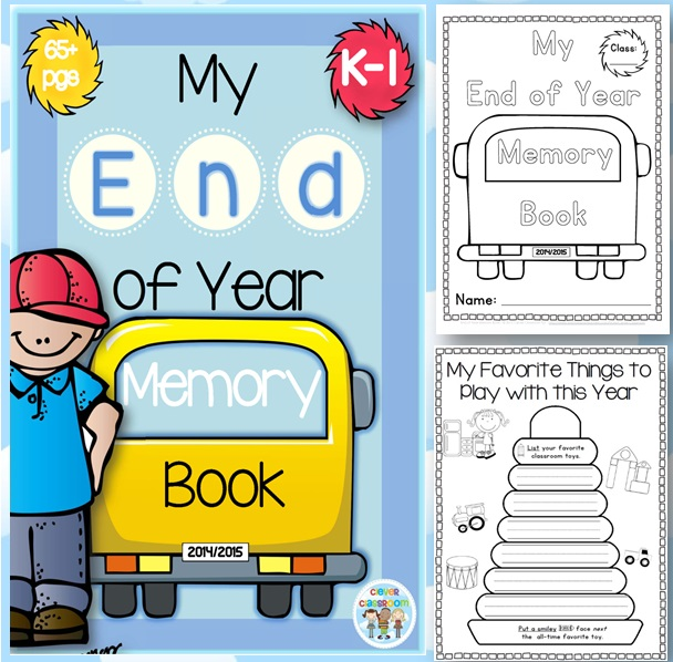 End of Year Activities GALORE and Memory Book