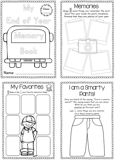Impeccable image within free printable memory book templates