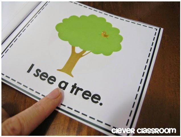 Kindergarten reading books and activities