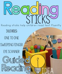Guided reading fluency idea