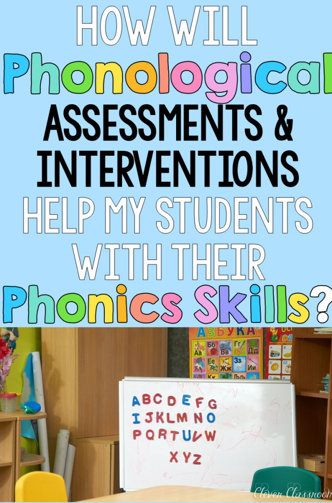 Phonological awareness information