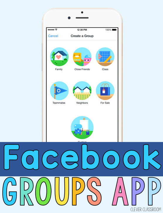 Facebook groups app