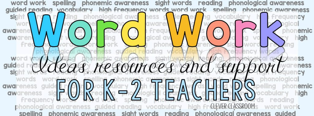 word work ideas Facebook group