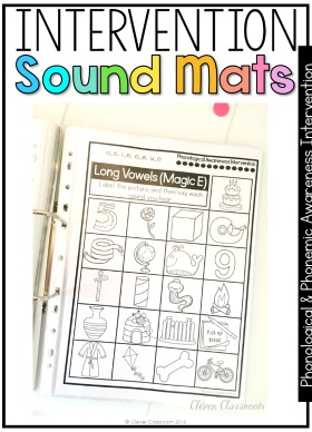 Phonemic and Phonological Awareness ASSESSMENTS and INTERVENTIONS for Pre-K, Kindergarten and first grade students.