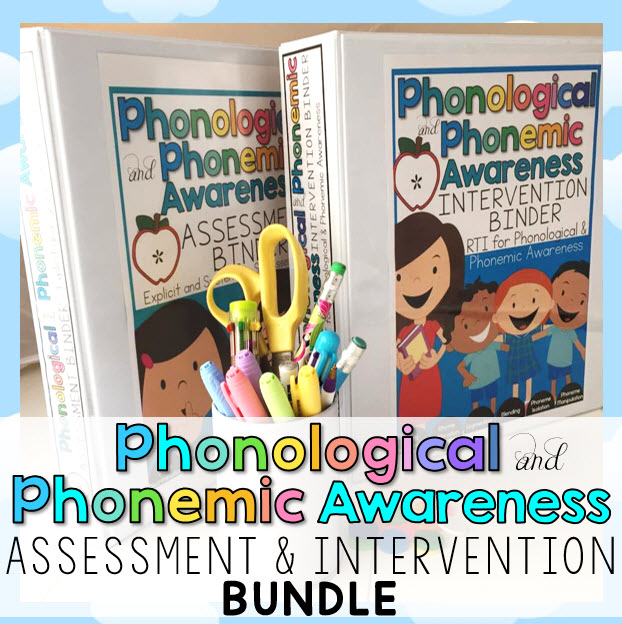 Phonemic and Phonological Awareness BUNDLE