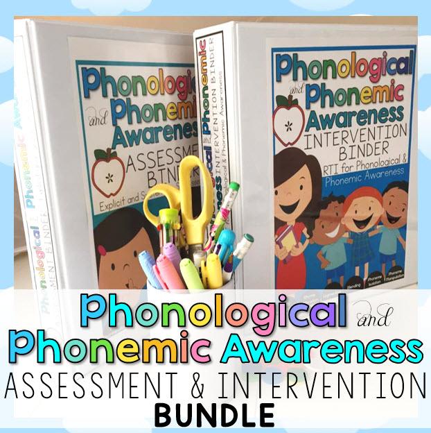 Phonemic and Phonological Awareness BUNDLE