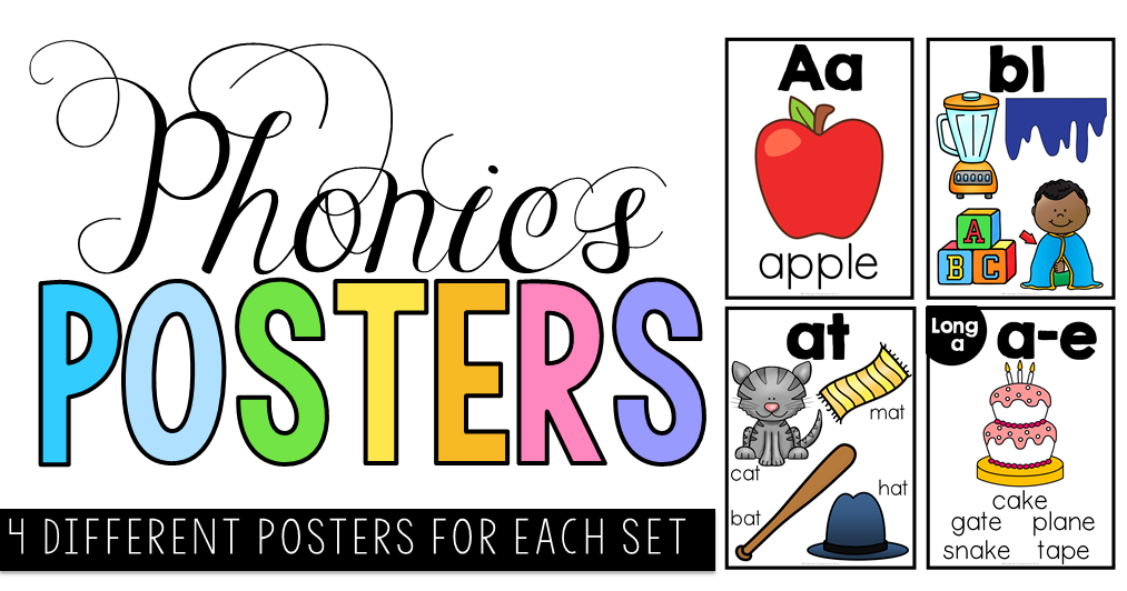Phonics Posters and cards