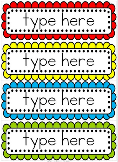 Free Printable Word Wall Templates | Printable Paper